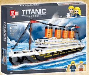 Zhe Gao QL0958 Titanic Klemmbausteine Passagierschiff Dampfer Modell NEU