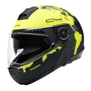 Motorcycle Helmet Modular SCHUBERTH C4 Pro Magnitude Yellow Matt SIZE S