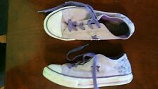 Converse All One Star youth girls 3 love peace Graffiti lo low top fashion