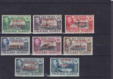Falklands Island Dependencies KGVI SG D1-8 Mounted Mint