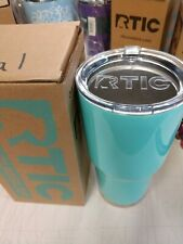 New Teal in Box 30oz RTICTumbler Clear Lid Keeps ice cold and Hot