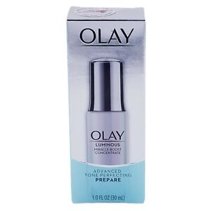 Olay Luminous Miracle Boost Concentrate Advanced Tone Perfecting PREPARE 1 fl oz