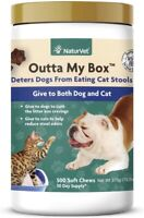 NaturVet Outta My Box 500 Soft Chews Stop Deters Dogs from Eating Cat Stools