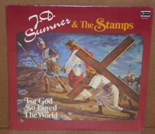 J.D. Sumner and the Stamps For God So Loved The World SEALED LP vinyl  cut out