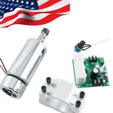 CNC Spindle Motor 400W ER11 &Mach3 PWM Speed Controller+Mount Engraving Kit