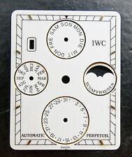 IWC Schaffhausen Novicento 3546 originale quadrante bianco