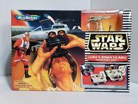 "Micro Machines STAR WARS ""LUKE'S BINOCULARS / YAVIN REBEL BASE"" NIB Galoob 1997"