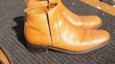 Vintage Saville Row, Leather Tan Chelsea Boots Size 9