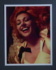 David Sims Original Limited Edition Photo Print 29x37cm Woman Portrait 50's Bra