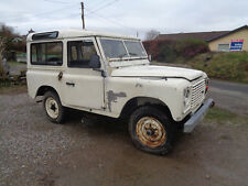 Land rover series 2 a 1961 Barn find project spares or repair, runs and drives