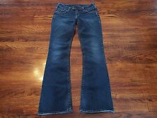 Silver Jeans Tuesday Women's Size 28 x 31.5 Boot Cut Zipper Fly