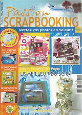 PASSION SCRAPBOOKING N°10 SCRAP EUROPEEN / SCRAP AMERICAIN /LE MEILLEUR DU SCRAP