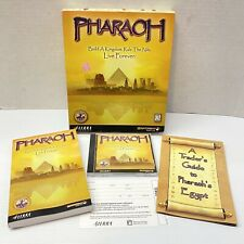 Pharaoh Build a Kingdom Rule the Nile Big Box Computer Game Complete Sierra 1999