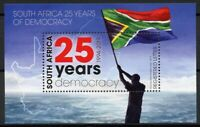 South Africa 2019 MNH Democracy 25 Years 1v M/S Flags Stamps