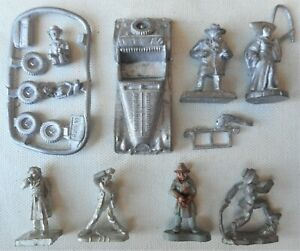 Call of Cthulhu 28mm Character figures. Journalist Private Investigator Roadster
