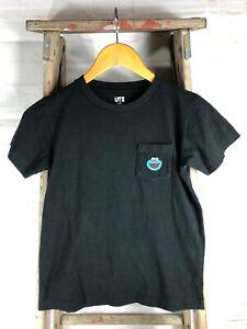 Uniqlo x KAWS Sesame Street Cookie Monster Pocket T-shirt Boys Size 9/10