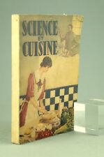 SCIENCE ET CUISINE Nussbaum 1946 Recettes Végétariennes Livre Ancien Veggie Book