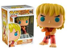 Street Fighter Ken Special Attack Pop! Funko games Vinyl figure n° 193