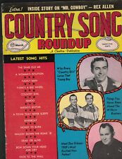 Country Song Roundup #65 March 1960 Don Gibson Faron Young Wilburn Brothers