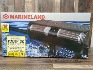 MarineLand Penguin 350 BIO Wheel Power Filter 50 to 70-Gallon , 350 GPH