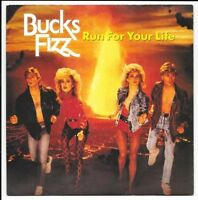 "Bucks Fizz - Run For Your Life - 7"" Vinyl - RCA ‎– FIZ 1 - 1983"