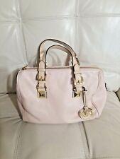 Michael Kors Grayson  Bag Blush Pink Satchel purse Leather handbag speedy Rare!