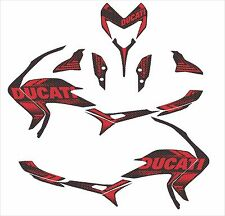 ducati hypermotard hyperstrada 939 821 decals sticker sp kit wrap carbon fiber 1