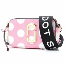 NW MARC JACOBS The Snapshot Dot Small Camera Bag M0014885 pink