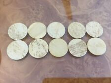 Antique bone gaming counters antique counters inlay repairs