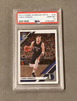 2019 Panini Donruss Optic #16 Luka Doncic - PSA 10 GEM MINT