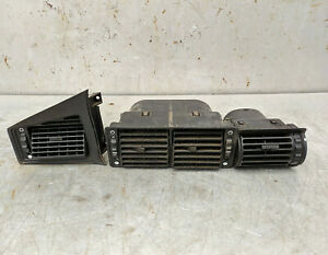 BMW E28 5-Series Interior Dashboard Fresh Air Vent Set of 3 / 64.22-1368 699