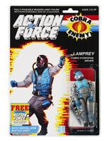 Action Force / GI Joe Lamprey Cobra Hydrofoil Driver MOC Custom Sticker Offer