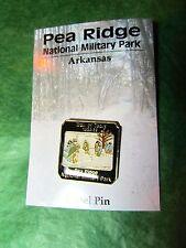 TRAIL OF TEARS PEA RIDGE N M P LAPEL HAT PIN ARKANSAS TRAVEL SOUVENIR (182)
