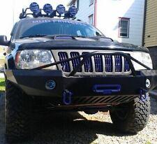 Jeep Grand Cherokee WJ Winch Front Bumper Pre Runner Powder Coated Black SALE
