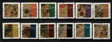 Nouveauté 2021 les 12 timbres du Carnet - KANDINSKY oblitérés