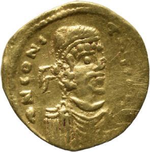 DIONYSOS Constantin IV. AV-Semissis Constantinopel Kreuz auf Globus #MO 1606