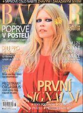 CLAUDIA SCHIFFER HEIDI MOUNT Harper's Bazaar fashion magazine revue de mode