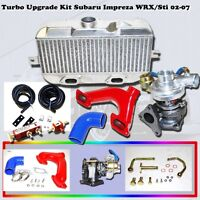 for 2002-2007 Subaru WRX Sti Impreza Turbo Kit Top Mount UPGRADE
