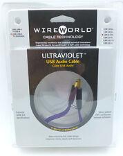WireWorld UltraViolet USB 2 meter USB A - USB MiniB Wire World