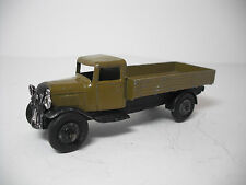 Vintage Meccano Ltd. Dinky Toy #25A-G  Wagon. Olive Green. EXCELLENT CONDITION