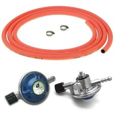More details for campingaz butane bottle regulator with 3m orange flexible gas hose and clips