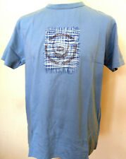 Crew Neck T-Shirt Mens Cotton Blue Sizes S M L Duck and Cover