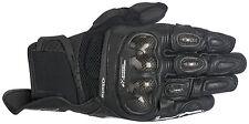 Alpinestars SPX  Black SP-X AIR Carbon Glove Motorcycle Summer Gloves Short