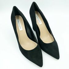 f77d58be8ed5 Saks Fifth Avenue Women s Lori Closed Pointed Toe Block Heels Pumps Black  Size11
