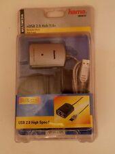 Hama USB 2.0 Hub 1:4.Mit Netzteil