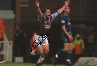 Signed Tony Cottee West Ham United Autograph Photo Everton Leicester