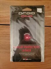 Droid 4 Anti-Glare Display Protectors 3-Pack, New