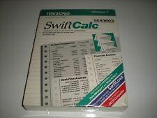 Swiftcalc spreadsheet program for Commodore 64. New.