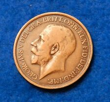 1919 Great Britain 1/2 Penny- Fantastic Coin  - See Pictures