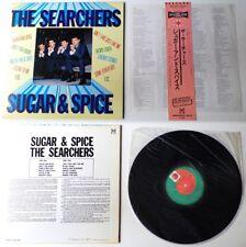 The SEARCHERS - Sugar & Spice Japan LP + insert + OBI